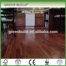 Easy-installation flat teak engineered wood flooring