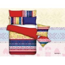 Luxe Design 100 % Polyester Microfibre impression ensembles de couverture de couette