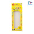 caja de plumas exquisita personalizada para niños con ventana