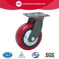 Russet Color PU Wheel Swivel Hochleistungsroller
