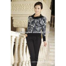 Eleganter, mongolischer Frauen-Kaschmir-Pullover
