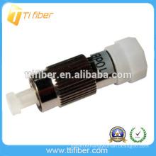 FC singlemode male to female fiber optical attenuator