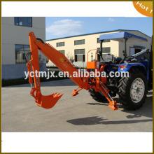 50-90hp farm tractor LW-8 back hoe