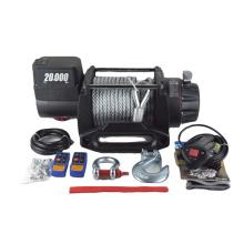 Treuil électrique puissant de moteur 12v/24v 20000lbs