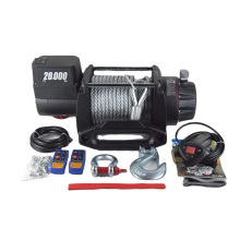 Leistungsstarker Motor 12V / 24V elektrische Winde 20000lbs
