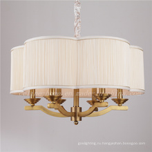Латунный цветной подвесной светильник с тканью (SL2060-6)