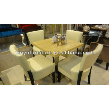 Modern restaurant dining table and chairs set XDW1001