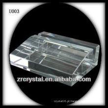 K9 Crystal Business Card Holder