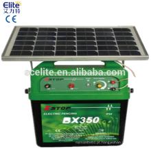 40 KM energizador solar cerca elétrica com caixa