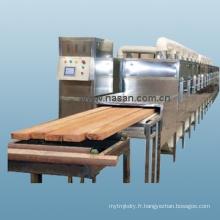 Équipement de séchage au bois par micro-ondes Nasan