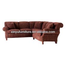 European style wooden sectional sofa/corner sofa XY0932