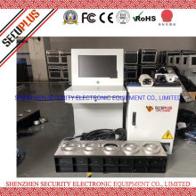 SECUPLUS Vehicle Undercarriage Examiner Security Scanning System for Underneath Vehicle Inspection