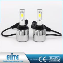 S2 Reihe H1 H3 H7 H8 H10 H11 9005 9006 9012 Bridgelux COB LED Scheinwerfer Umbausatz 8000lm 6500K Glühbirne