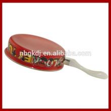 fritar panela de esmalte vermelho & tinta esmalte para panelas