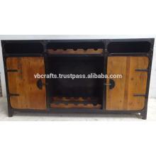 Vintage Industrial Bar Counter
