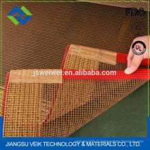maille de fibre de verre de PTFE pour le tunnel de chaleur de machine d'emballage de rétrécissement de textile de convoyeur