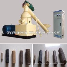Máquina de briquetas de biomasa popular con tallos de maíz