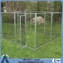 Hot sale cheap Metal or galvanized comfortable dog kennel designs