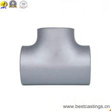 Raccord de tuyauterie en acier noir à extrémités biseautées ASME