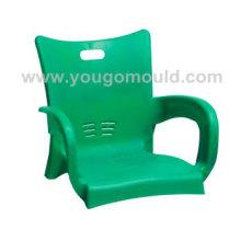 Moule de chaise en plastique tube acier 02
