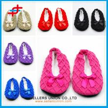 elastic plain color indoor cheap argyle line dancing shoes