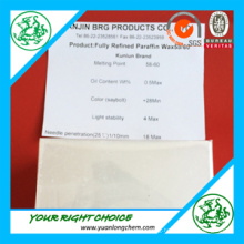 Paraffin Wax 58-60 Used for Making Candles