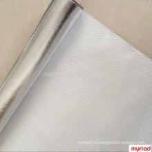 Fuego resiste el vidrio, reflexivo y de plata Material del material para techos Laminado de aluminio laminado