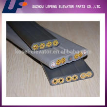 Ascensor tipo de las partes cable de ascensor plana, cable de viaje, cable de viaje de ascensor