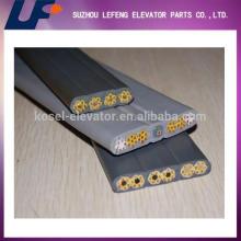 Элементы лифта типа плоский кабель лифта, бегущий кабель, лифтовый дорожный кабель