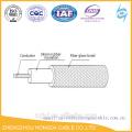 Cabo / fio resistentes ao calor da borracha de silicone da trança da fibra de vidro do UL 3122