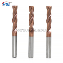 High Hardness Solid Carbide Flat Bottom Drill Bits for Metal Drilling