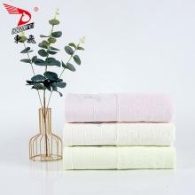 belle serviette de bain logo broderie frontière simple