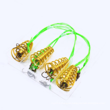 Set Explosive Fishing Hooks Barbed Tackle High Carbon Steel Accessories Fish Bait Cannon