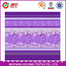 100 Polyester Fabrics 75*180D 85gsm For bedsheet Bedding set