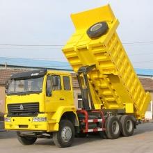 Howo 290hp camión volquete 6 * 4 modelo ZZ3257M3841W