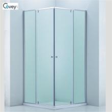 Duschkabine mit verstellbarem Rahmen / maßgeschneiderte Glastür (3-Cvs048)