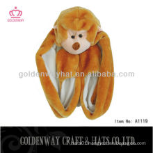 Monkey Fur Hat A1119