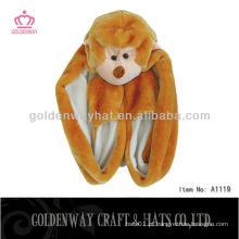 Chapéu de pele de macaco A1119