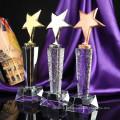 Prêmios de cristal do troféu de cinco estrelas