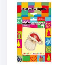 niños hechos a mano diy arcilla padre navidad decoración babg palm hacer momery craft kit