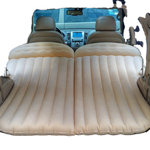 Deluxe Dura-Beam Airbed Twin Fast Inflating Cushion Easy Portability Includes Carry Bag