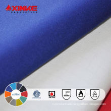 100% cotton and anti-wrinkle fireproof fabric