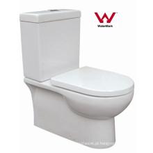 Watermark banheiro sanitário banheiro de duas peças cerâmica WC (HZX-99)