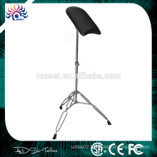 2015 New stainless steel leather tattoo furniture cheap tattoo arm rest, adjustable arm rest tattoo chair