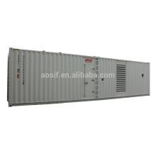 1000KW / 1250 KVA grupo generador conjunto de precio con cummins QSK38-G5