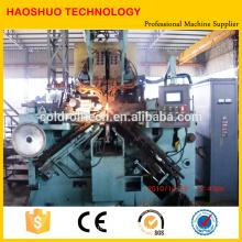 Automatische Kettenumform- und Schweißmaschine