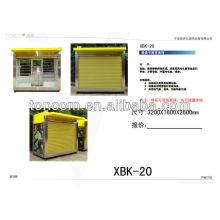 Xbk по-20 уличный розничная kioks для продажи с светлой коробкой
