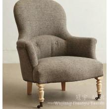 Tejidos de lino con lineitas de poliéster y forro Knittted para sillas