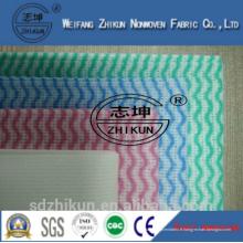 Fabricant fournisseur viscose et polyester tissu non tissé chiffon industriel essuie-glace industriel