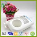 HDPE elegante branco OEM personalizado plástico 1 galão recipientes para shampoo embalagem